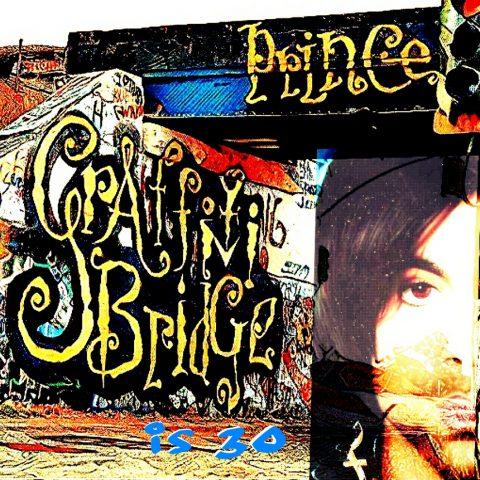 Graffiti Bridge Article Art by Ron Hart