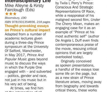 Prince and Popular Music Review Record Collector Magazine