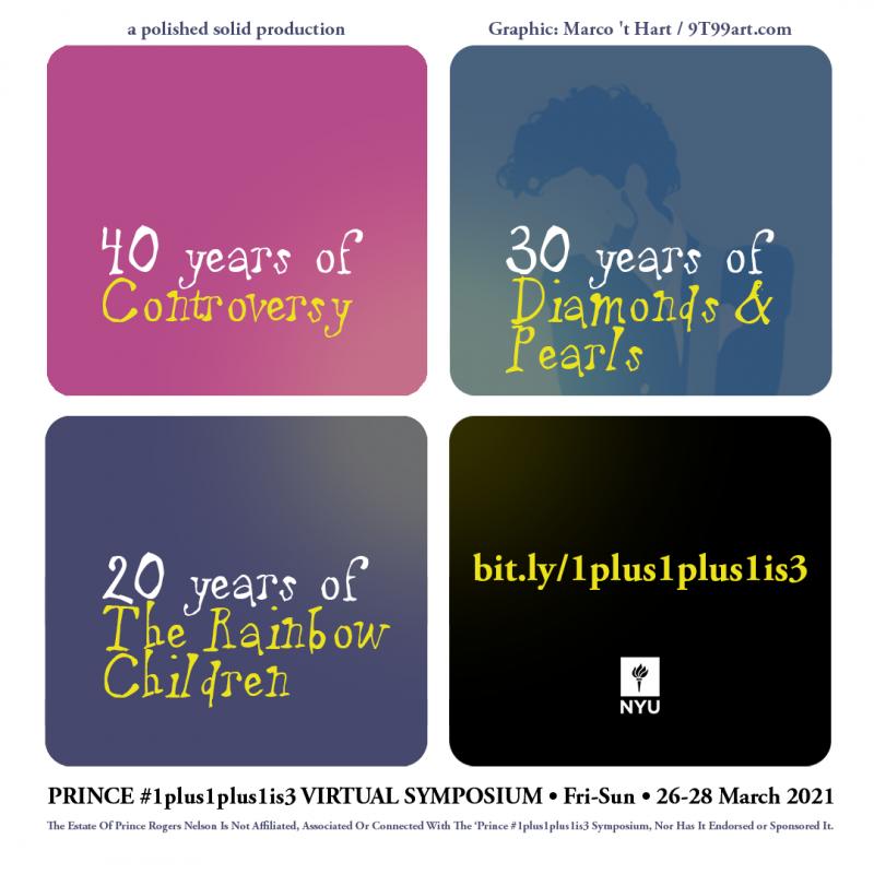 Prince #1plus1plus1is3 Symposium