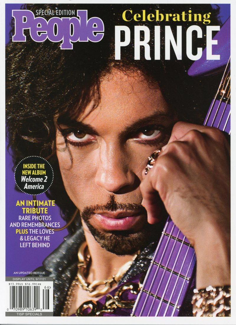 People Magazine Prince Special Edition 2021 Cover