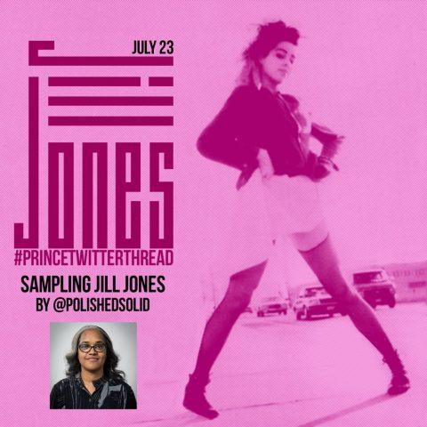 Sampling JJ Jill Jones PrinceTwitterThread